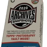 2020 Topps Archives Snapshots Baseball