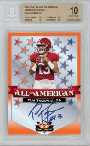 All-American Auto Orange Tua Tagovailoa MOCK UP
