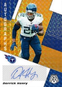 Autographs Mosaic Derrick Henry MOCK UP