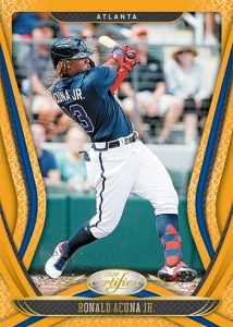 Certified Mirror Gold Ronald Acuna Jr MOCK UP