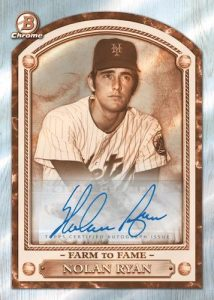 Farm to Fame Auto Nolan Ryan MOCK UP