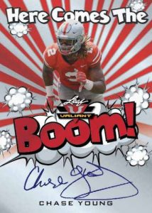 Here Comes the Boom! Auto Chase Young MOCK UP