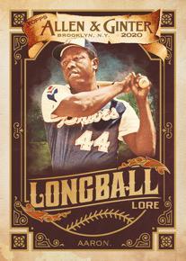 Longball Lore Hank Aaron MOCK UP