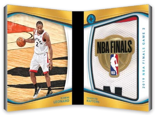 NBA Finals Logoman Booklet Kawhi Leonard MOCK UP
