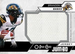 O-Pee-Chee Jumbo Jersey Brandon Banks MOCK UP