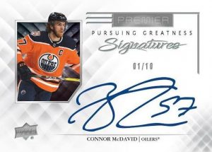 Pursuing Greatness Signatures Connor McDavid MOCK UP