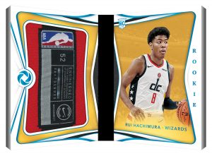 Rookie Patches Booklet Rui Hachimura MOCK UP