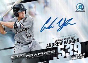 Stat Tracker Auto Andrew Vaughn MOCK UP