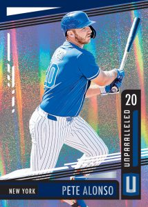 Unparalleled Pete Alonso MOCK UP