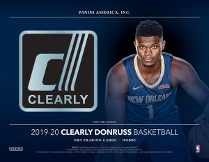 2019-20 Clearly Donruss Basketball
