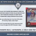 2019-20 Topps Museum Collection UEFA Champion League