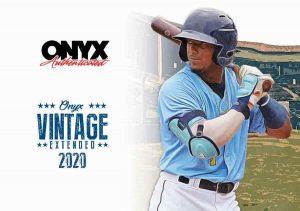 2020 Onyx Vintage Extended Baseball