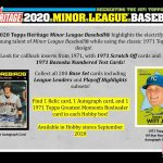 2020 Topps Heritage Minor League Baseball