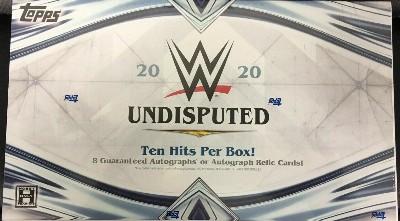 2020 Topps WWE Undisputed