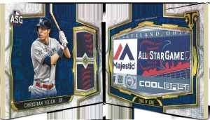 All-Star Laundry Tag Book Christian Yelich MOCK UP