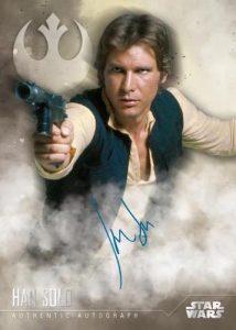 Base Auto Harrison Ford as Han Solo