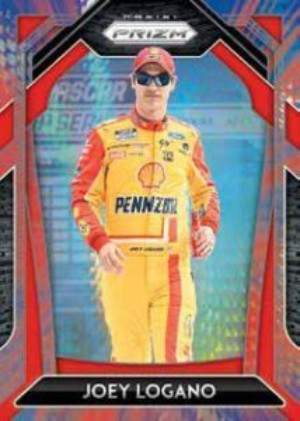 Base Blue and Red Hyper Prizm Joey Logano MOCK UP