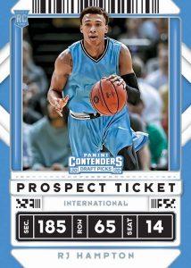 Base Prospect Ticket RJ Hampton MOCK UP
