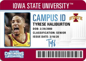 Campus ID Tyrese Haliburton MOCK UP