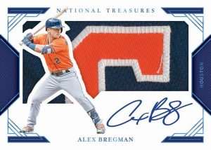 Clearly Jumbo Signatures Platinum Alex Bregman MOCK UP