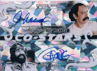 Co-Stars Dual Auto Cheech Marin, Tommy Chong