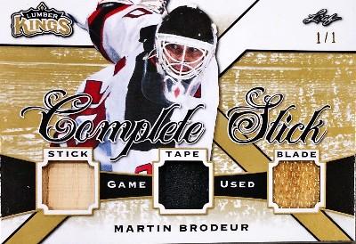 Complete Stick Gold Martin Brodeur