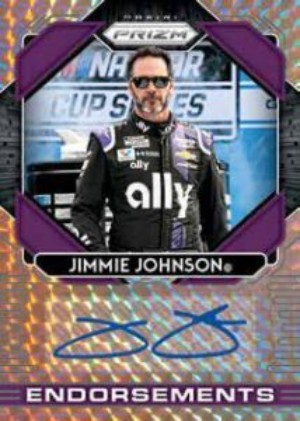 Endorsements Prizm Auto Jimmie Johnson MOCK UP