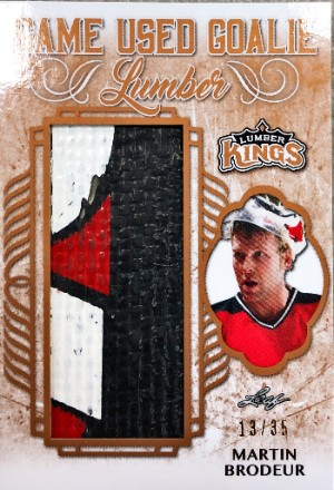 Game Used Goalie Lumber Martin Brodeur