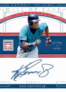 Hall of Fame Signatures Holo Silver Ken Griffey Jr MOCK UP