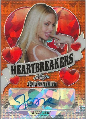Heart Breakers Auto Orange Crystal Jesse Jane