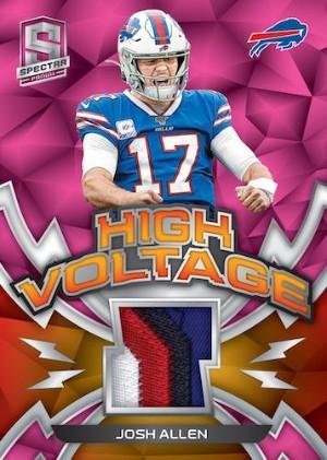 High Voltage Neon Pink Relics Josh Allen MOCK UP