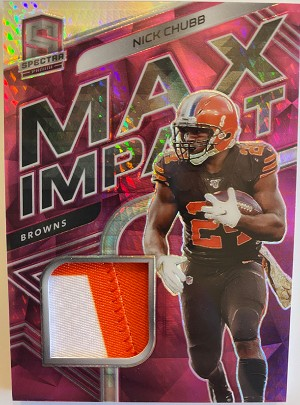 Max Impacts Relics Nick Chubb