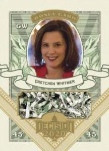Money Card Gretchen Whitmer MOCK UP