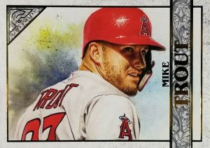 Oversized Box Toppers Mike Trout MOCK UP