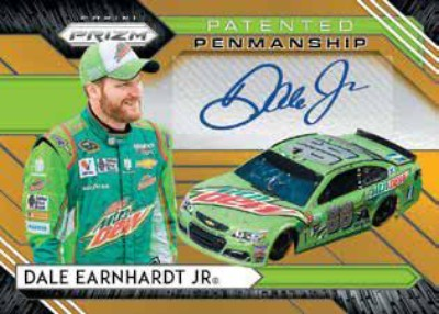 Patented Penmanship Prizm Auto Dale Earnhardt Jr MOCK UP