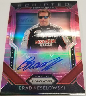 Scripted Signatures Prizm Auto Brad Keslowski