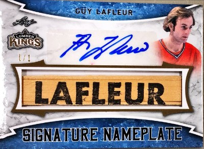 Signature Nameplate Guy Lafleur