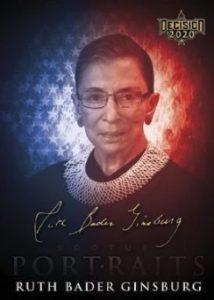 Supreme Court Justice Portraits Ruth Bader Ginsberg MOCK UP