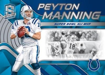 Tribute Neon Blue Peyton Manning MOCK UP