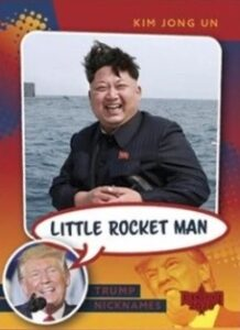 Trump Nicknames Kim Jong-Un MOCK UP