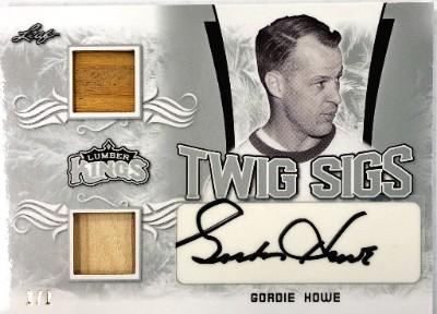 Twig Sigs Silver Gordie Howe