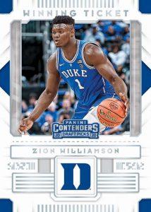 Winning Tickets Zion Williamson MOCK UP