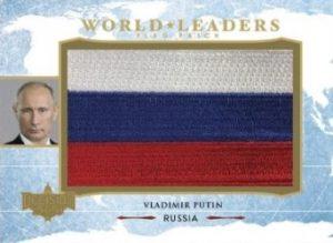 World Leaders Flag Patch Vladimir Putin MOCK UP