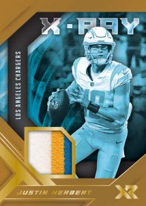 X-Ray Swatches Gold Justin Herbert MOCK UP