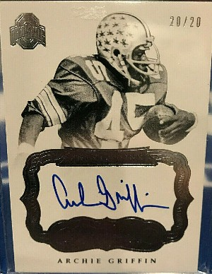 2017 Flawless Update Archie Griffin