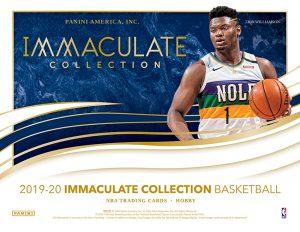 2019-20 Panini Immaculate Collection Basketball
