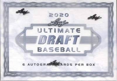 2020 Leaf Ultimate Draft Baseball