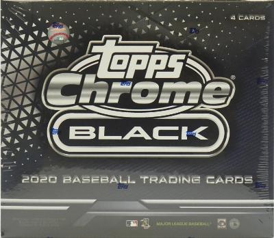 2020 Topps Chrome Black Baseball