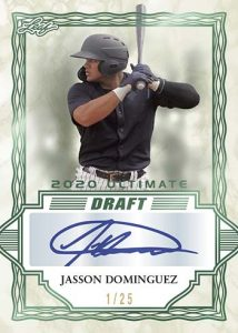 Base Auto Emerald Spectrum Jasson Dominguez MOCK UP