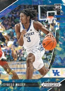Base Blue Ice Tyrese Maxey MOCK UP